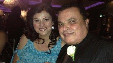 Maria Fayad and her husband Sam Fayad.