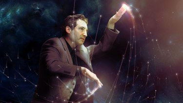String theorist and author Brian Greene.