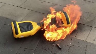 The hoverboard industry is cooked