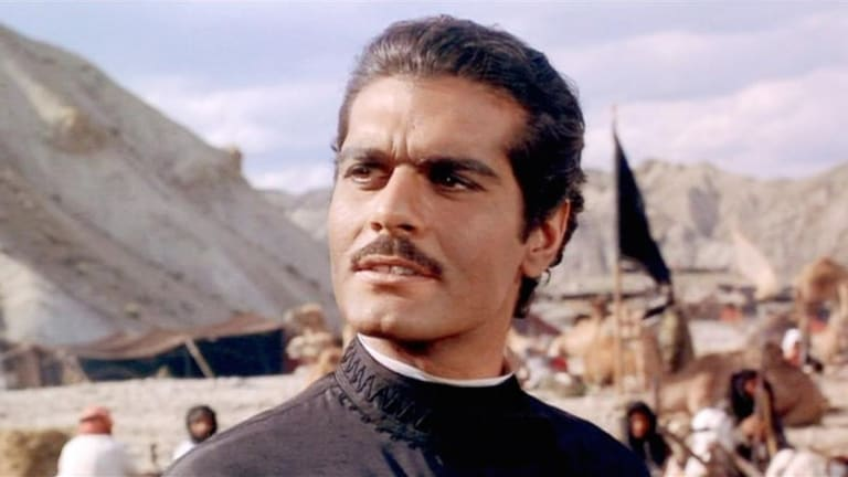 Omar Sharif  starred in the 1965 movie version of Doctor Zhivago