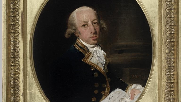 Portrait of Captain Arthur Philip painted by Francis Wheatley.