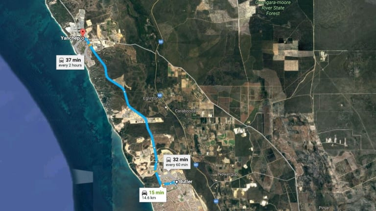 The planned upgrade will widen Marmion Avenue from Butler to Yanchep.