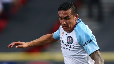 Melbourne City's Tim Cahill.