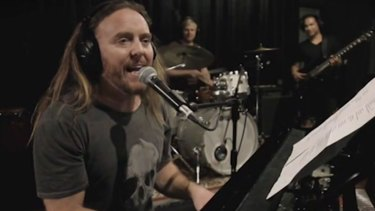 Tim Minchin's song topped the Australian iTunes songs chart.
