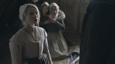 Anya Taylor-Joy plays Thomasin in The Witch.