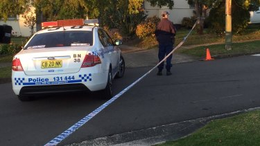 The bodies of a grandmother and her seven-year-old grandson were found on the front lawns of a Lalor Park street.