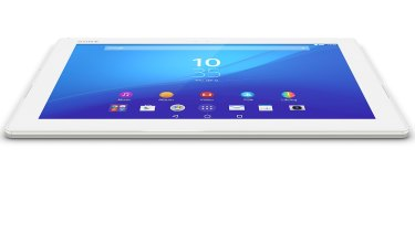 At 6.1mm, the Xperia Z4 is a very thin tablet.