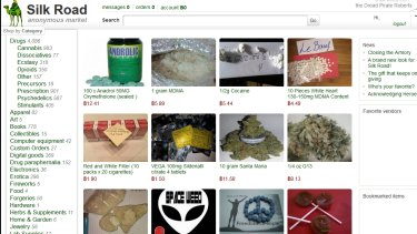 Silk Road online drug forum.