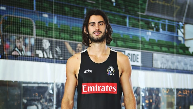 """Year four: Brodie Grundy is ready to be a """"centre of influence""""."""