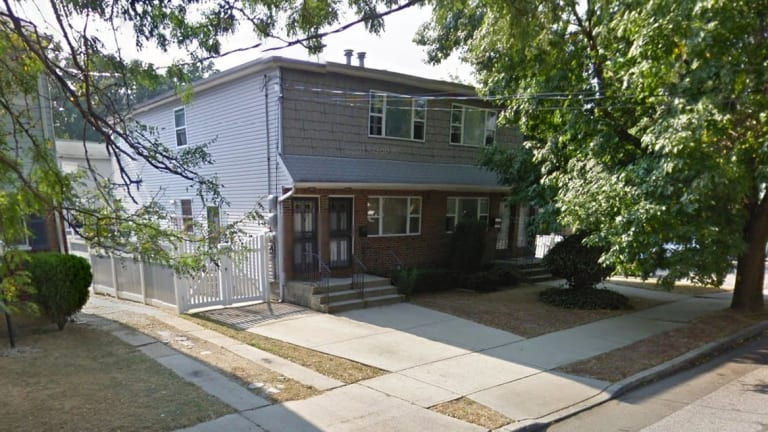 The house in the New York borough of Queens where a Sydney girl was found after being allegedly lured to the US by a convicted killer.