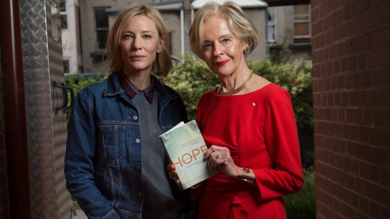 Cate Blanchett and Quentin Bryce were judges for the Brotherhood of St Laurence's first literary award, The Hope Prize
