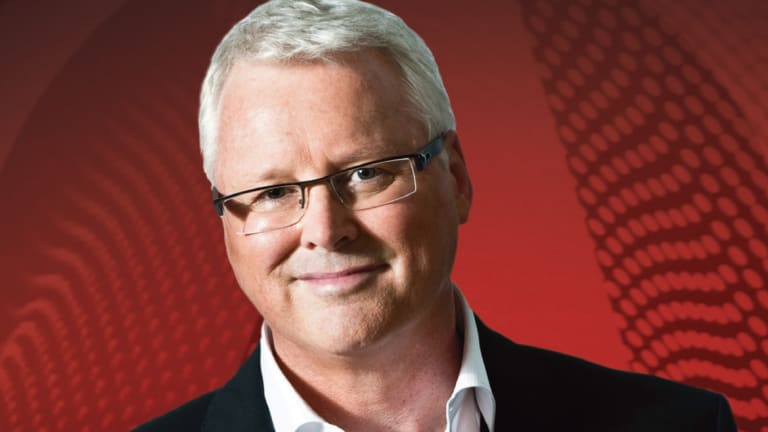 Q&A host Tony Jones.