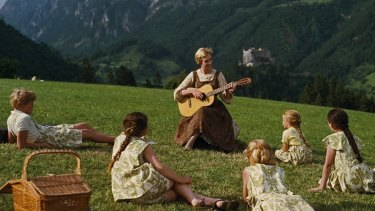 Julie Andrews in 1965's <i>The Sound of Music</i>.