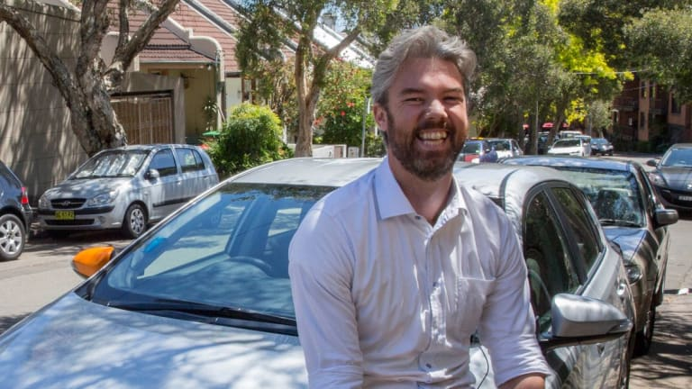 Surry Hills resident Tim Chapman embraced car sharing about a year ago.