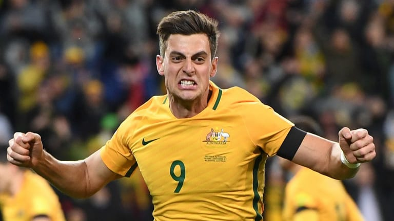 Sweating it out: Tomi Juric has been spending time in the sauna to prepare for the Honduras clash.