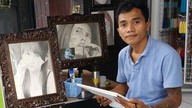 Billy Surya Adji met Andrew Chan and Myuran Sukumaran when he was in jail. He is now an artist in Bali.