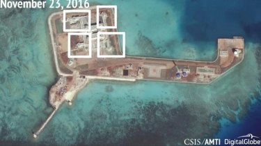 Nominee for Secretary of State Rex Tillerson says that China should be denied access to Islands in the South China Sea.