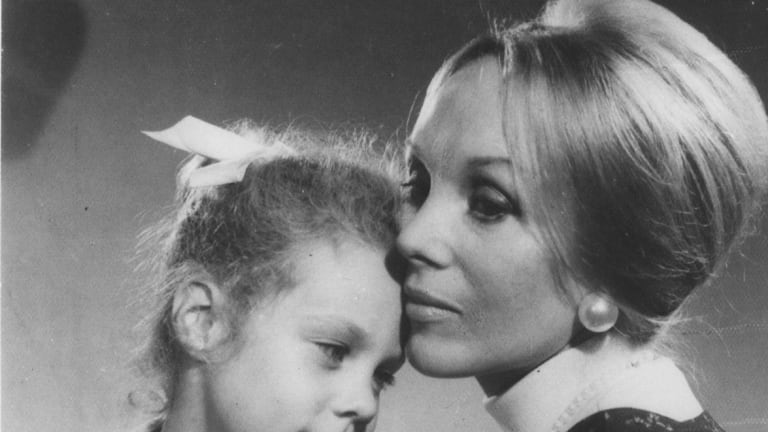 Anne Hamilton-Byrne, with adopted child Anna.