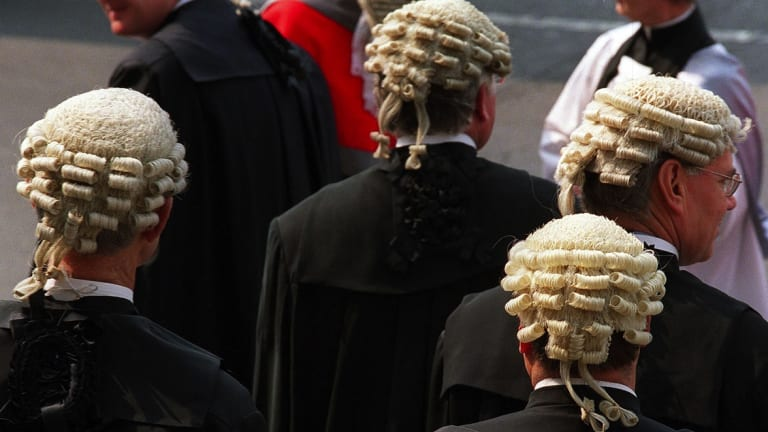 Hair-raising idea: wigs could soon be a thing of the past in the Supreme Court.