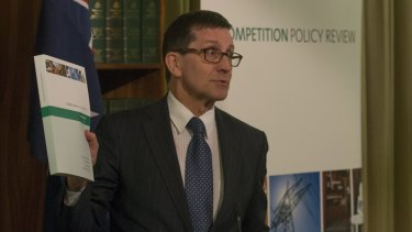 Professor Ian Harper releases the Competition Policy Review's final report on Tuesday.