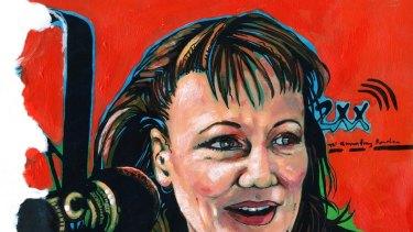 Sylvie Stern, by Barbara van der Linden.