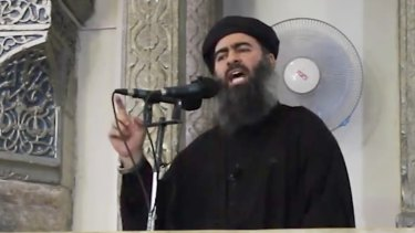 The message was purported to be from Abu Bakr al-Baghdadi.