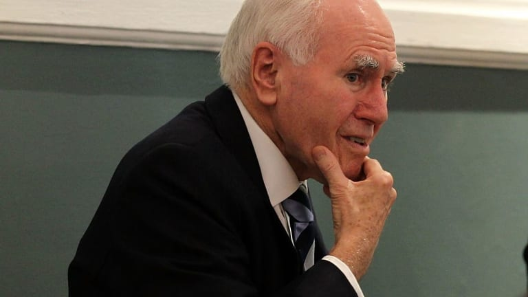 A man who police believe is a Mafia boss and alleged hitman met then prime minister John Howard and other top Liberal Party figures at fundraising events.