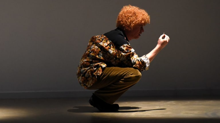 Andy Blaikie as Brett Whiteley in the film about his tumultuous life.
