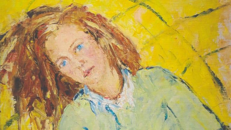 A 1937 portrait of Mary Nolan by Arthur Boyd. National Gallery of Australia/The Arthur Boyd Gift, 1975