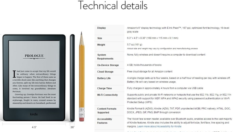 The Amazon Kindle terms and conditions contract takes almost nine hours to read.