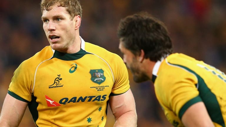 No.8 feels great: Wallabies talisman David Pocock will be shifted to the back of the scrum against the All Blacks.