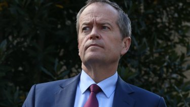 The Leader of the Opposition Bill Shorten has hardened his criticism of the plebiscite plan in a clear indication Labor is preparing to announce it will not support the Coalition's enabling legislation.