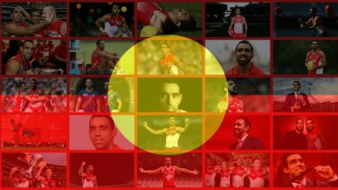 Target: Adam Goodes has polarised Australia with his stand for Indigenous people.