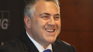 Treasurer Joe Hockey said government spending hadn't been brought forward deliberately.