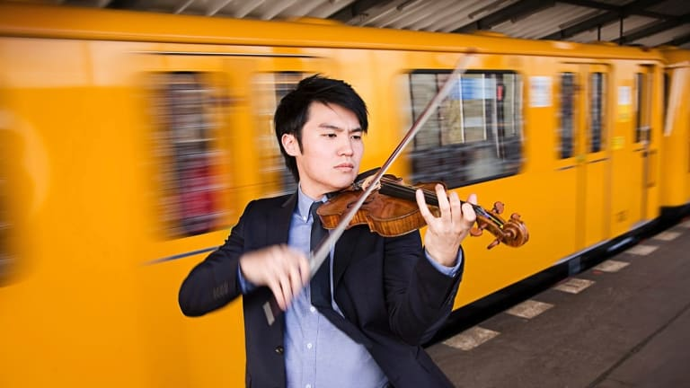 Ray Chen: an effortlessly expressive violinist.