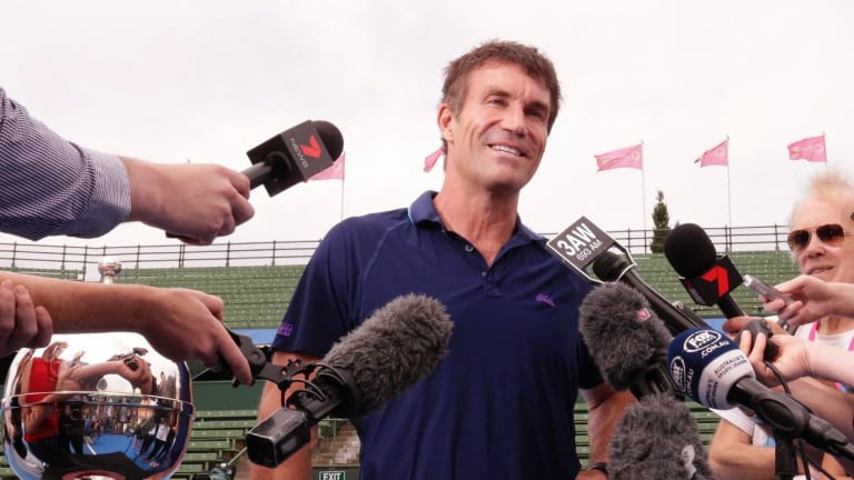Pat Cash took a swipe at Tennis Australia.