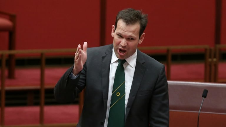 New frontbencher Matt Canavan says statehood for northern Queensland could benefit the region's economy.