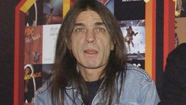Malcolm Young in London and 2003.