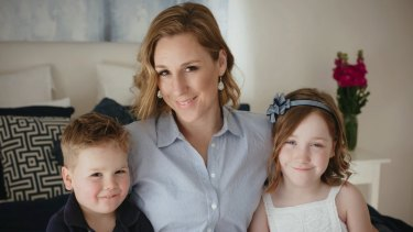 Stewart set up her business to have more flexibility with her children.