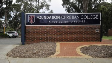 Foundation Christian College in Mandurah told the father of a seven-year-old girl she would not have been welcome had it known her parents were gay.
