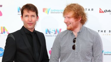 Ed Sheeran and James Blunt were at the party with the royal when the incident occurred.