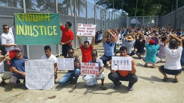 Asylum seekers due for relocation on Manus Island say they fear for their lives.