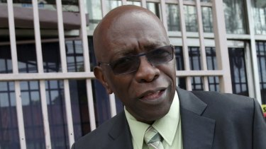 FIFA executive Jack Warner.