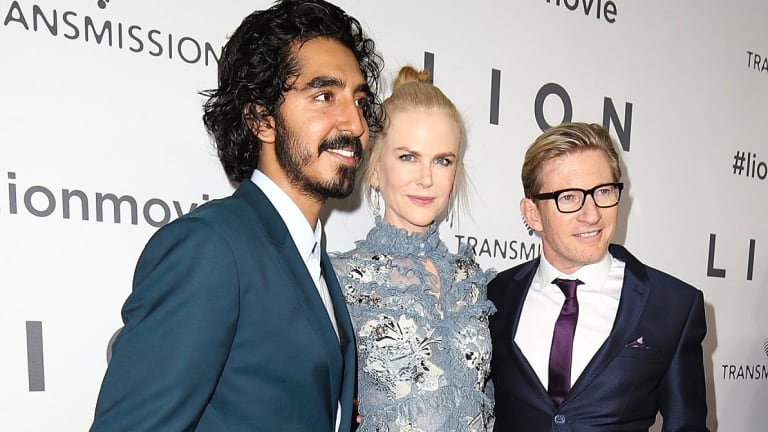 Dev Patel, Nicole Kidman and David Wenham arrive ahead of the Australian premiere of <i>Lion</i>.