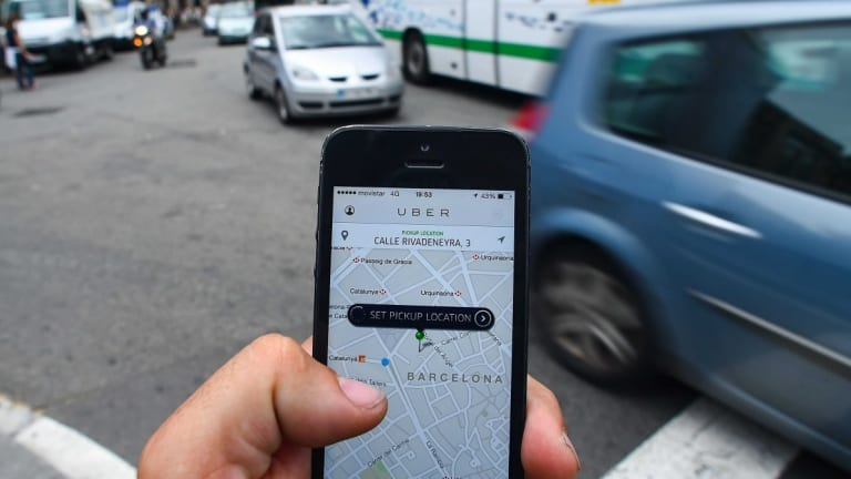 """""""We can turn every car into a shared car - the next frontier is the Uber commute,"""" CEO Travis Kalanick says."""