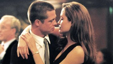 The Brangelina genesis - the pair met in the 2005 spy film Mr and Mrs Smith.