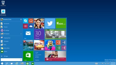 Windows 10 will include universal apps compatible across multiple Windows devices.