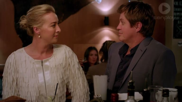 <i>Offspring</i> fans aren't impressed with the chemistry between Asher Keddie and Dan Wyllie, who played a married couple in <i>Love My Way</i>.