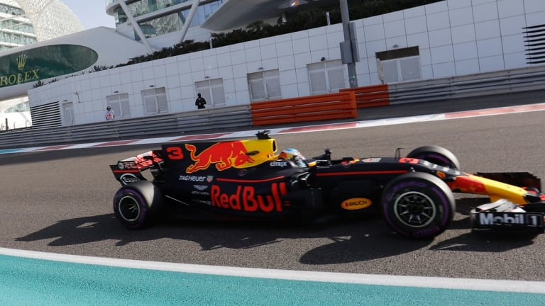 Daniel Ricciardo will start on the second-row of the grid.