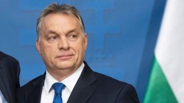 Hungarian Prime Minister Viktor Orban pictured in  November, 2016.